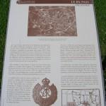 Bayeux musée de la Bataille de Normandie, panneau By-Pass