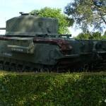 Bayeux musée de la Bataille de Normandie, char Churchill Crocodile