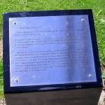Caen Mémorial de Caen, jardin du Souvenir britannique
