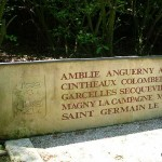 Caen Mémorial de Caen, jardin du Souvenir canadien