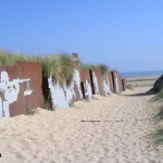 Courseulles-sur-Mer, Centre Juno Beach, la plage