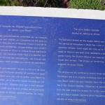 Courseulles-sur-Mer, Centre Juno Beach, les kiosques de briques commémoratives
