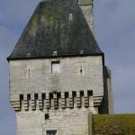Creully, musée de la radio, la tour carrée de la BBC