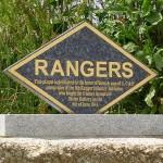 Grancamp-Maisy, batterie de Maisy, stèle Rangers