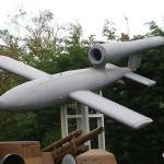 Ouistreham, le Grand bunker musée du Mur de l'Atlantique, bombe volante V1