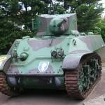 Ouistreham, le Grand bunker musée du Mur de l'Atlantique, Light Tank M3