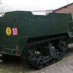 Ouistreham, le Grand bunker musée du Mur de l'Atlantique, Half Track M3