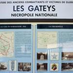 Radon Les Gateys, cimetière français