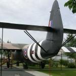 Ranville, mémorial Pegasus, planeur Horsa