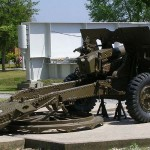 Ranville, mémorial Pegasus, 25 Pounder Field Gun