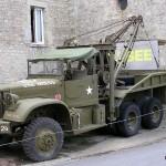 Sainte-Marie-du-Mont, musée de la Libération, camion Diamond T969 Wrecker