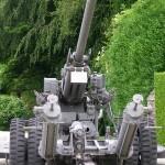 Sainte-Mère-Eglise, musée Airborne, canon américain 90 mm M1