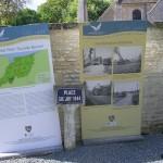 Escoville, panneaux 70e anniversaire