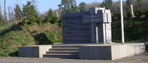 Barenton, monument lettrine