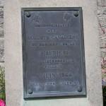Bény-sur-Mer, stèle régiment de la Chaudière