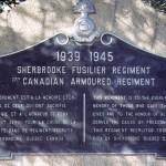 Buron, monument Sherbrooke Fusilier Regiment