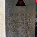 Caen, monument 3rd Infantry DivisionCaen, monument 3rd Infantry Division