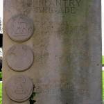 Caen, monument 3rd Infantry Division