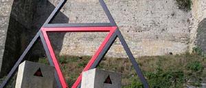 Caen, monument lettrine