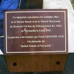Caen, monument Royal Navy