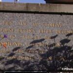 Caen, plaque Raymond Chatelain