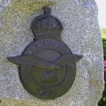 Caen, stèle Royal Air Force