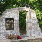 Conteville, monument soldats britanniques