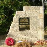 Conteville, monument 1re division blindée polonaise