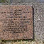 Courseulles-sur-Mer, monument général de Gaulle