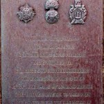 Courseulles-sur-Mer, plaque 44th (Lowland) Infantry Brigade