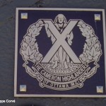 Courseulles-sur-Mer,plaque, The Cameron Highlanders of Ottawa