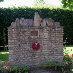 Cresserons, monument 22nd Dragoons