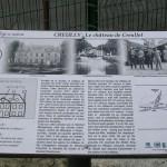 Creully, panneau château de Creullet