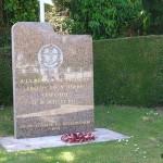 Cuverville, stèle Middlesex Regiment