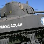Ecouché, char Sherman Massaouah