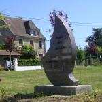 Fontaine-le-Pin,stèle de la Libération
