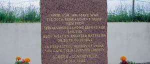 Gonfreville, monument lettrine