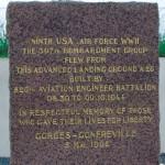 Gonfreville, stele aérodrome A26