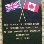Hubert-Folie, monument libérateurs britanniques et canadiens