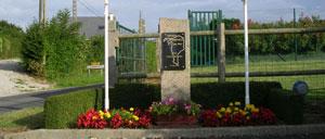 La Bonneville, monument lettrine