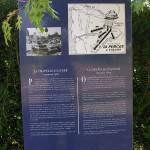 La Chapelle-en-Juger, totem Espace Historique