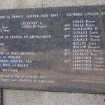 La Haye-du-Puits, plaque victimes civiles
