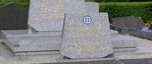 La Meauffe, monument lettrine