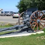 Longues-sur-Mer, canon russe modèle 1917