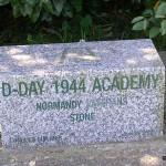 Longues-sur-Mer, stèle D-Day 1944 Academy