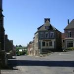 Bernières-le-Patry, le centre du bourg