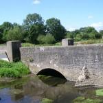 Vaux-sur-Aure, le pont sur l'Aure