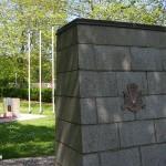 Bavent Le Mesnil, monuments 1st Canadian Parachute Battalion, Brigadier Hill & 3rd Parachute Brigade