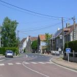 Emiéville, le centre ville