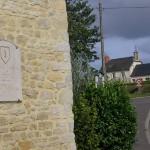Etréham, plaque 1st Infantry Division